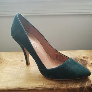 Madewell Mira Suede pumps Heels